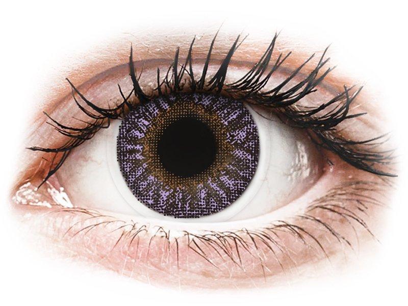 TopVue Color - Violet - ar dioptriju (2lēcas)