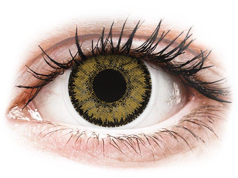 SofLens Natural Colors Dark Hazel - bez dioptrijas (2 lēcas)