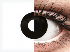 ColourVUE Crazy Lens - Blackout - dienas bez dioptrijas (2 lēcas)
