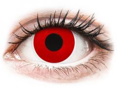 ColourVUE Crazy Lens - Red Devil - dienas bez dioptrijas (2 lēcas)