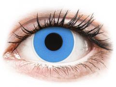 ColourVUE Crazy Lens - Sky Blue - dienas bez dioptrijas (2 lēcas)