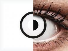 ColourVUE Crazy Lens - White Zombie - dienas bez dioptrijas (2 lēcas)