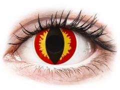 ColourVUE Crazy Lens - Dragon Eyes - dienas bez dioptrijas (2 lēcas)