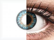 ColourVue One Day TruBlends Blue - ar dioptriju (10 lēcas)