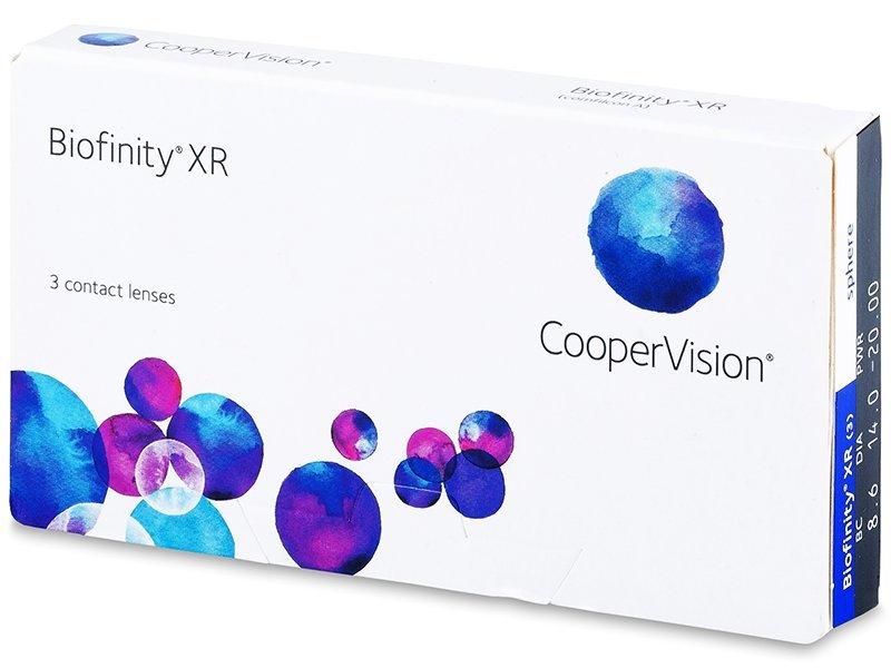 Biofinity XR (3lēcas)