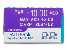 Dailies AquaComfort Plus Multifocal (30lēcas)