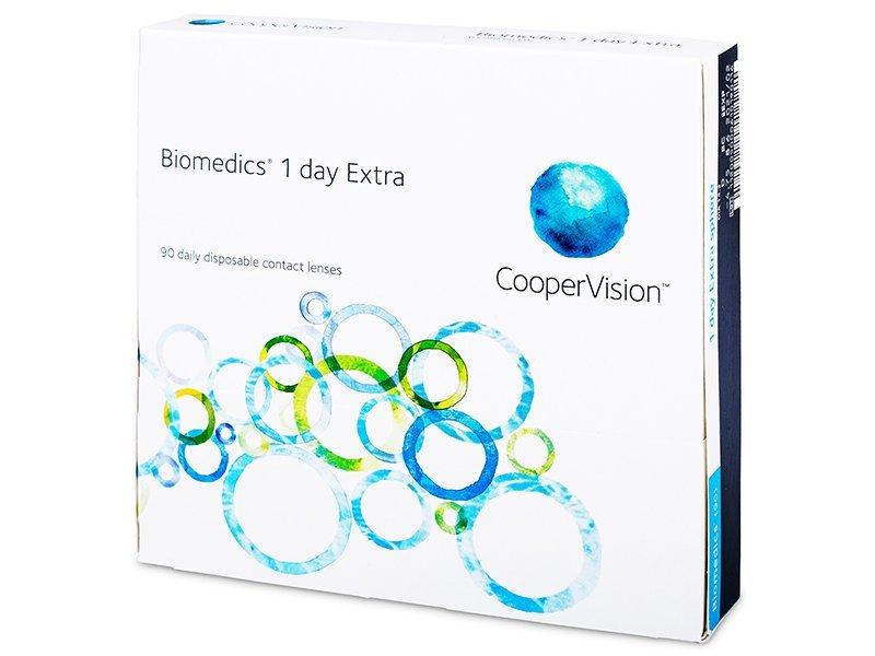 Biomedics 1 Day Extra (90lēcas)