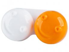 Lēcu konteinerītis 3D - oranžs