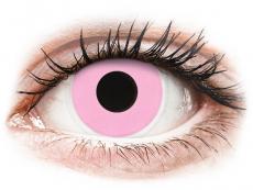 ColourVUE Crazy Lens - Barbie Pink - bez dioptrijas (2 lēcas)