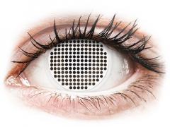 ColourVUE Crazy Lens - White Screen - bez dioptrijas (2 lēcas)