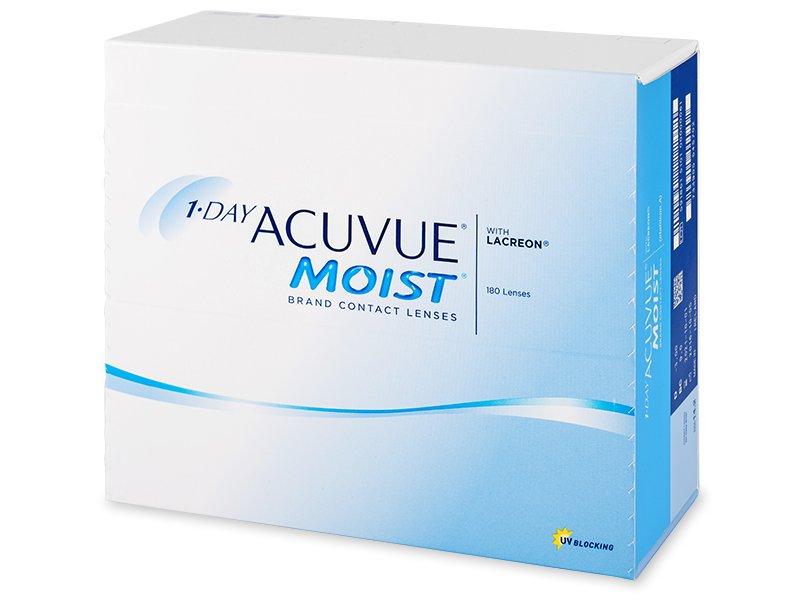 1 Day Acuvue Moist (180lēcas)