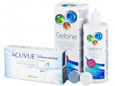 Acuvue Oasys (12 lēcas) + Gelone Šķīdums 360 ml