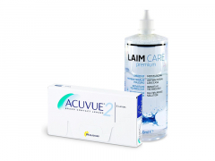 Acuvue 2 (6 lēcas) + Laim-Care Šķīdums 400 ml