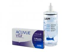 Acuvue Vita (6 lēcas) + Laim-Care Šķīdums 400 ml