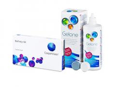 Biofinity XR (3 lēcas) + Gelone Šķīdums 360 ml