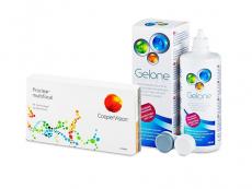 Proclear Multifocal (6 lēcas) + Gelone Šķīdums 360 ml