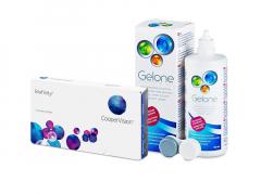 Biofinity (3 lēcas) + Gelone Šķīdums 360 ml
