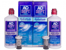AO SEPT PLUS HydraGlyde šķīdums 2 x 360 ml