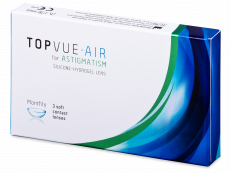 TopVue Air for Astigmatism (3 lēcas)