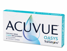 Acuvue Oasys with Transitions (6 lēcas)