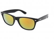 Saulesbrilles Alensa Sport Black Orange Mirror