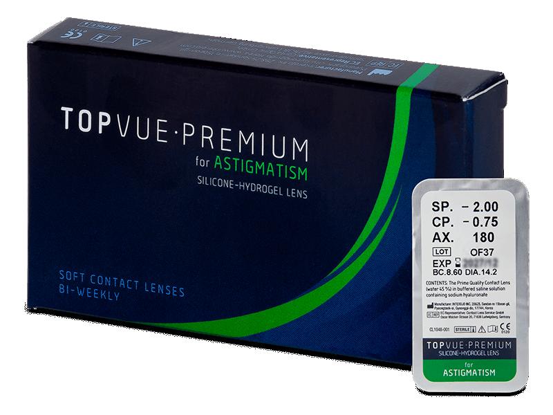 TopVue Premium for Astigmatism (1 lēca)