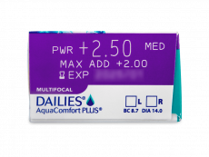 Dailies AquaComfort Plus Multifocal (90lēcas)