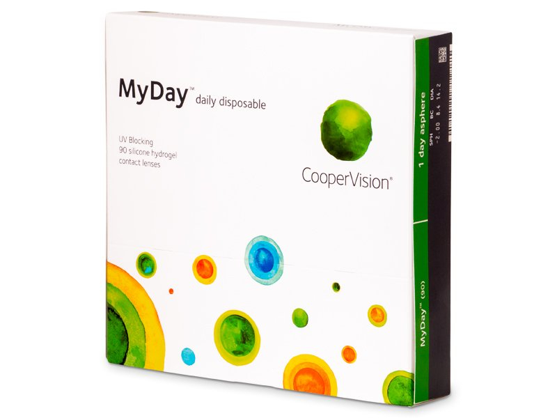 MyDay daily disposable (90 lēcas)