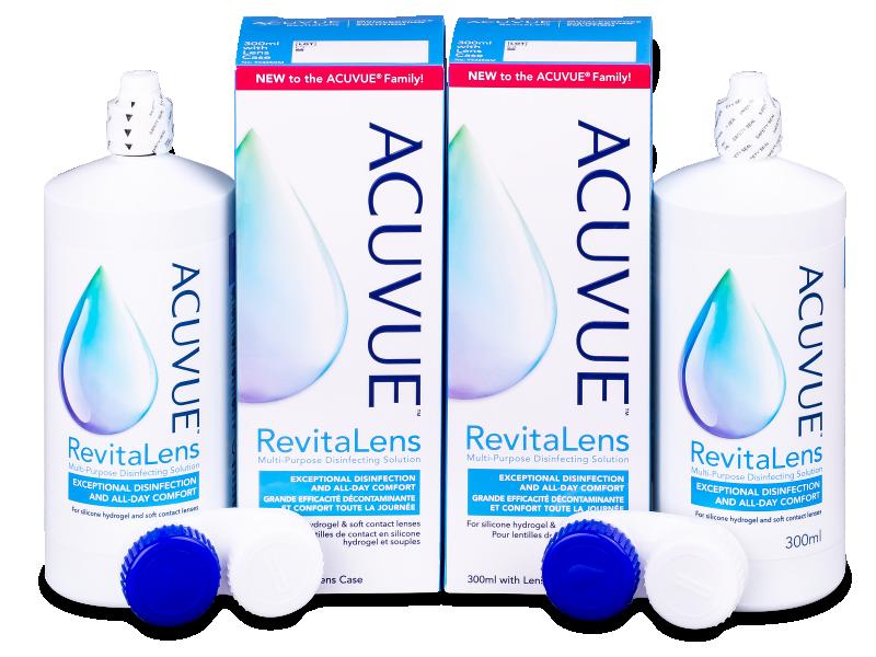Acuvue RevitaLens šķīdums 2x 300 ml