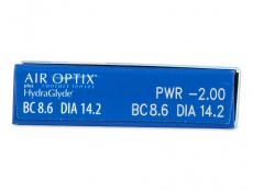 Air Optix plus HydraGlyde (3 lēcas)