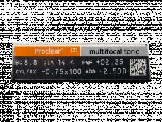 Proclear Multifocal Toric (3lēcas)