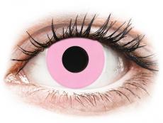 CRAZY LENS - Barbie Pink - dienas bez dioptrijas (2 lēcas)
