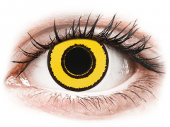 CRAZY LENS - Yellow Twilight - dienas bez dioptrijas (2 lēcas)