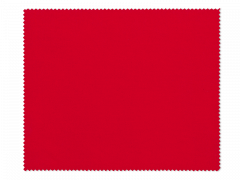 Kopšanas drāniņa brillēm - sarkana