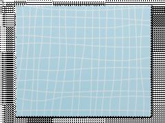 Kopšanas drāniņa brillēm - gaiši zilā režģī