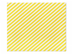 Kopšanas drāniņa brillēm - dzeltenas un baltas strīpas