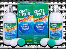 OPTI-FREE RepleniSH šķīdums 2x300ml