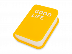 Dzeltens lēcu aprūpes komplekts - Grāmata