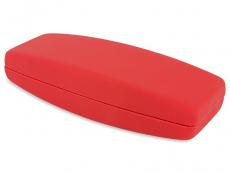 Cietais futlāris brillēm sarkanā krāsā