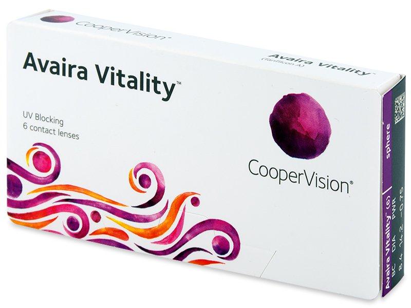Avaira Vitality (6 lēcas)