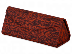 Sarkans futlāris brillēm - Brindle
