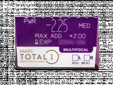 Dailies TOTAL1 Multifocal (30 lēcas)
