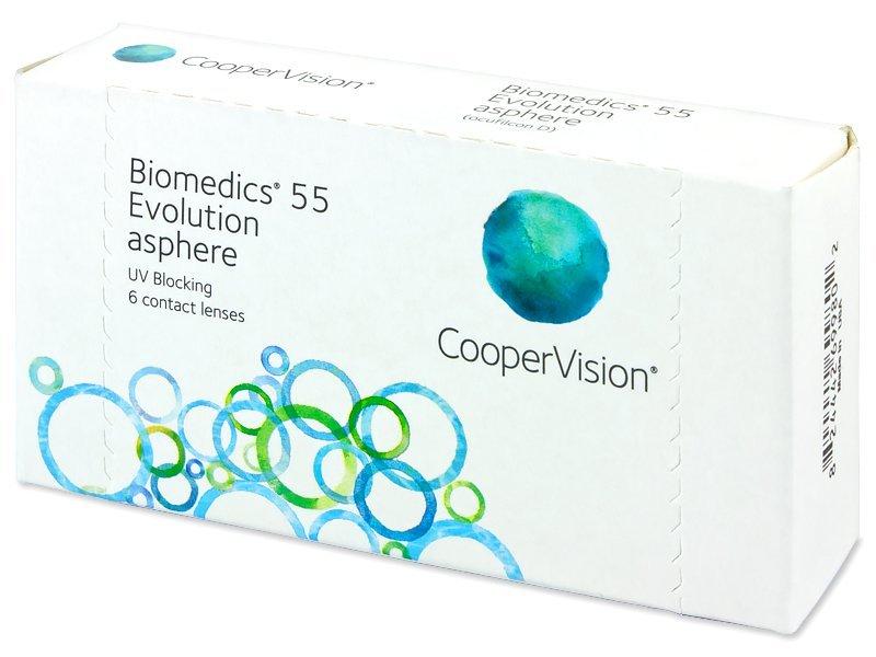 Biomedics 55 Evolution (6lēcas)
