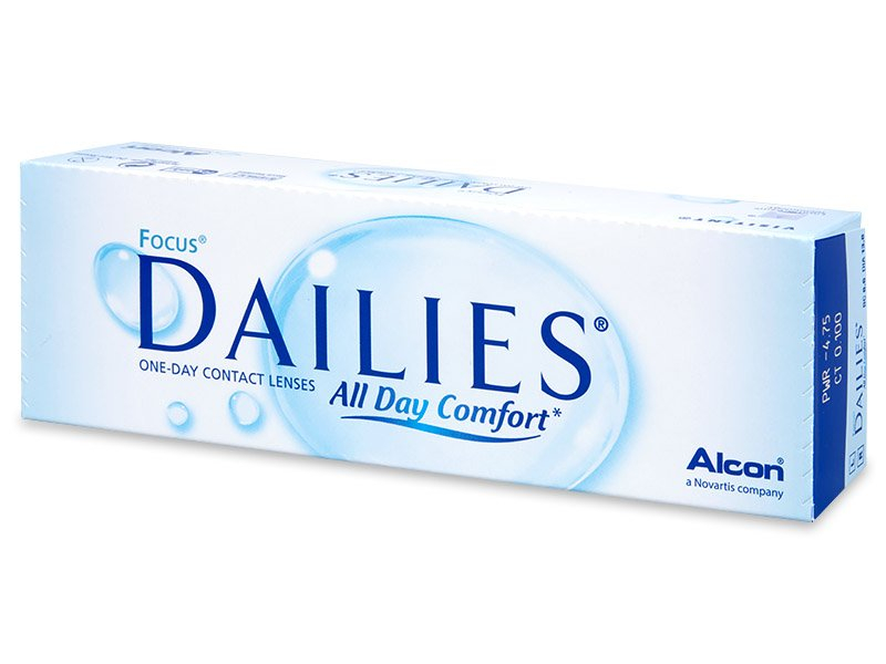 Focus Dailies All Day Comfort (30 lēcas)