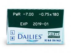 Focus Dailies Toric (30lēcas)