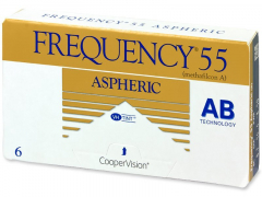 Frequency 55 Aspheric (6lēcas)