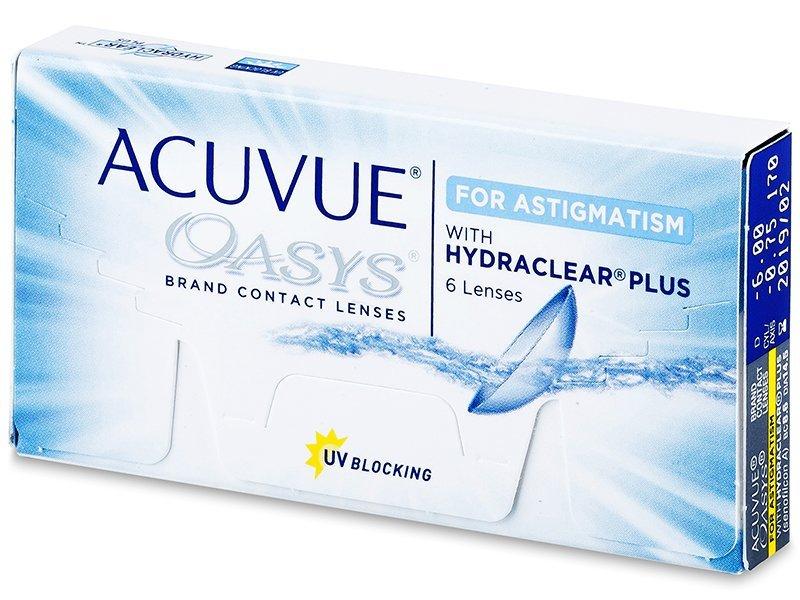 Acuvue Oasys for Astigmatism (6lēcas)