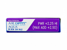 Air Optix Aqua Multifocal (3 lēcas)