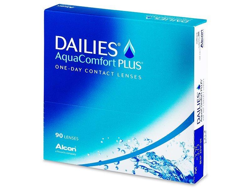 Dailies AquaComfort Plus (90lēcas)