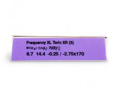FREQUENCY XCEL TORIC XR (3lēcas)